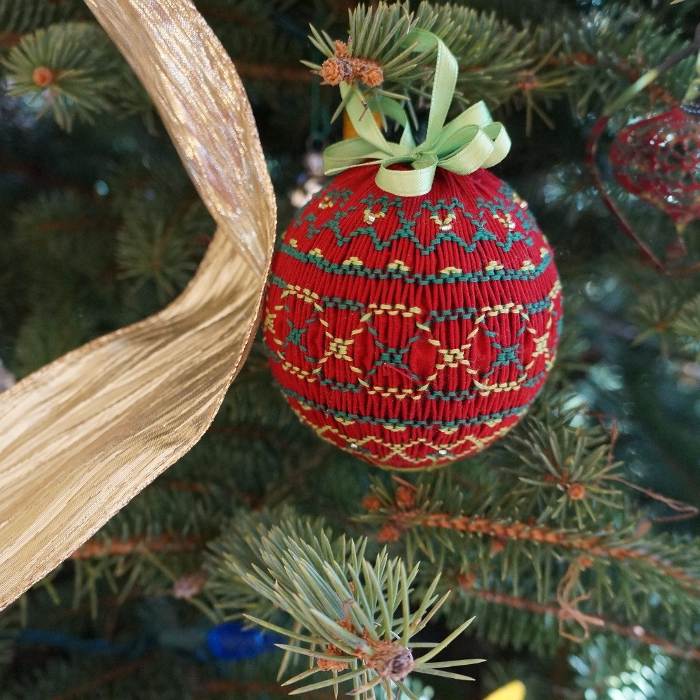 Mystery Smocked Ornament