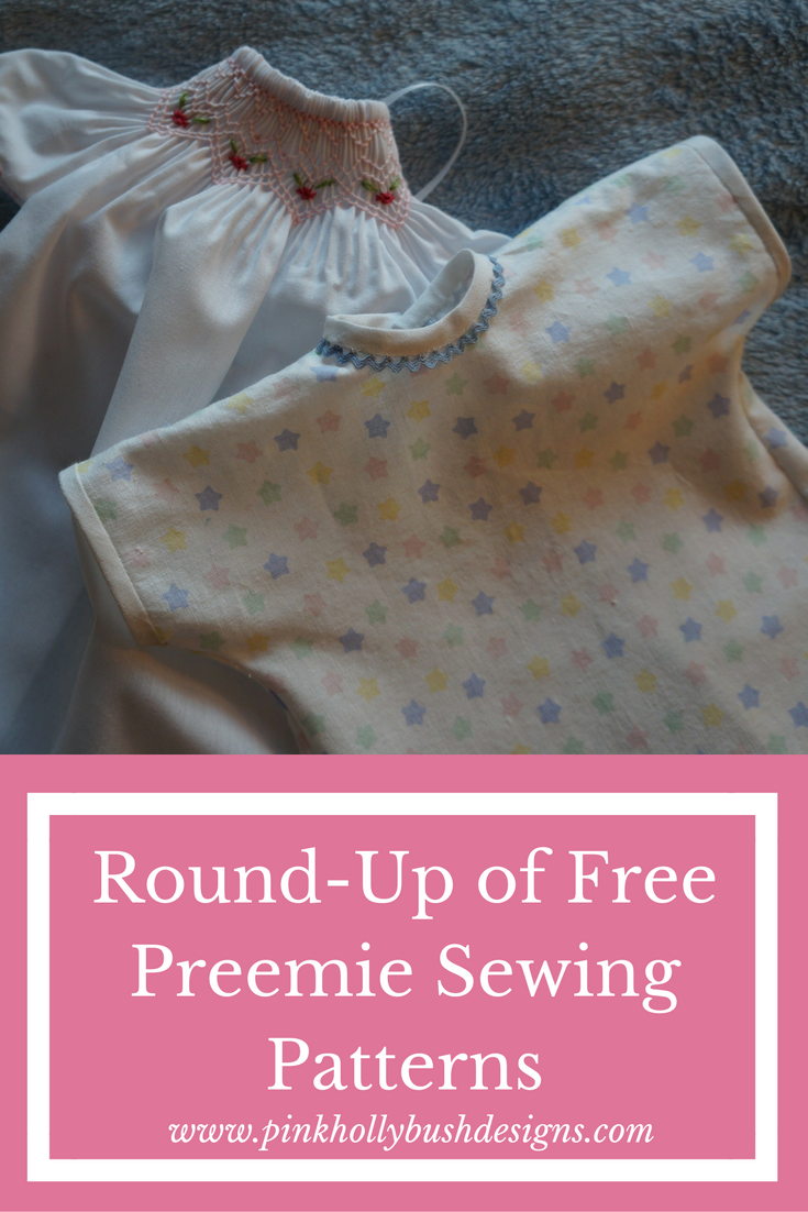 Round up of Free Preemie Sewing Patterns