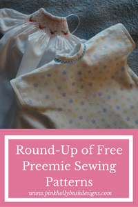 Round-up of Free Preemie Sewing Patterns