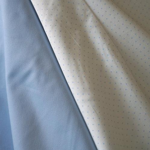 Tiny Blue Dots Cotton Broadcloth