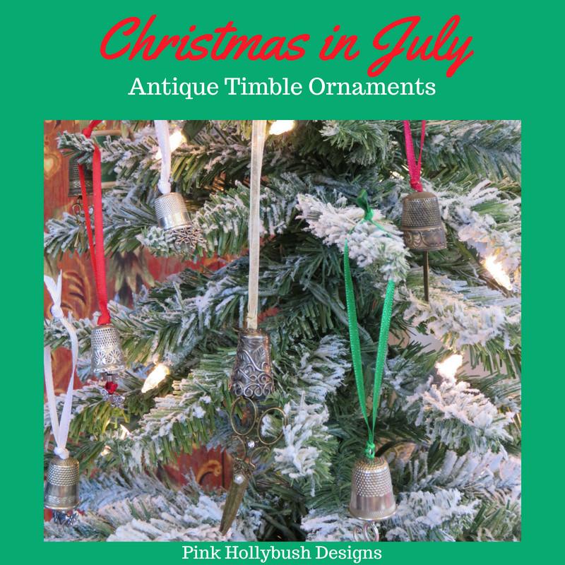 Antique Thimble Ornaments