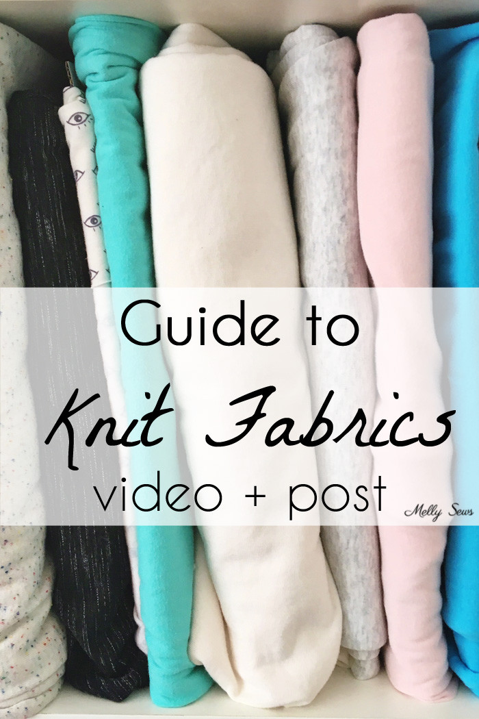 Guide to knit fabrics video