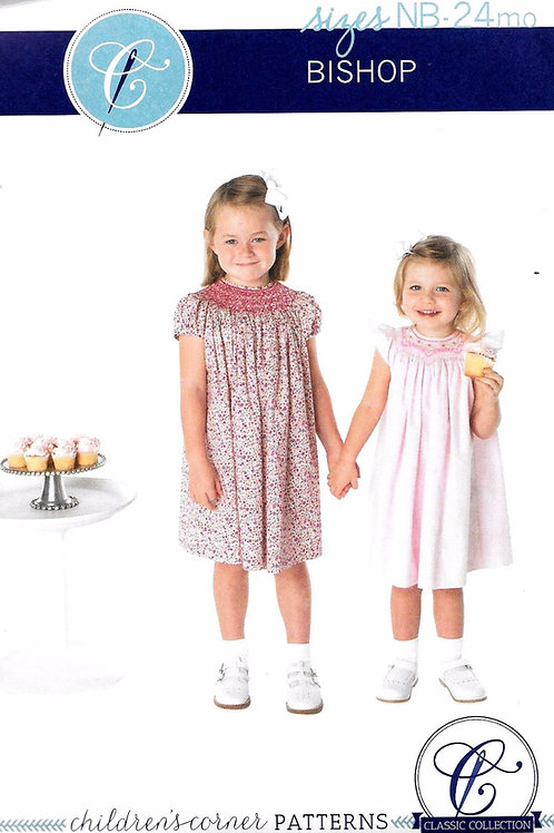 Classic Bishop Smocked Child's Dress