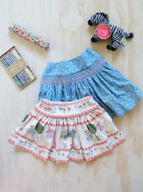 Twirly Skirt Video Course, Pattern & Sew-Along