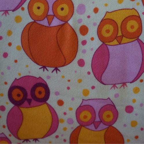 Little Owl Cotton Flannel