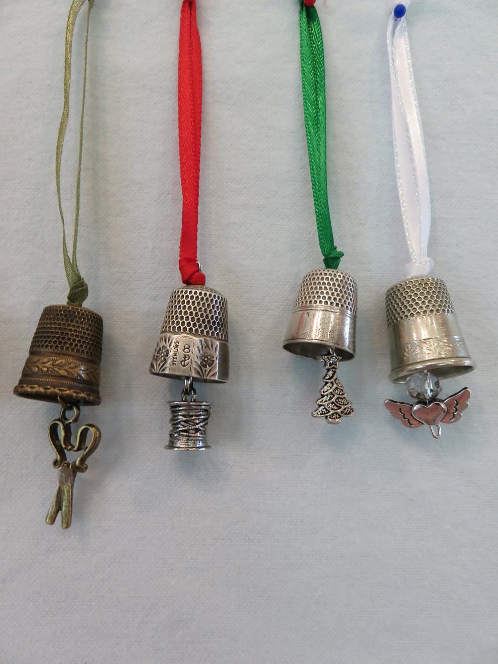 Thimble Ornaments