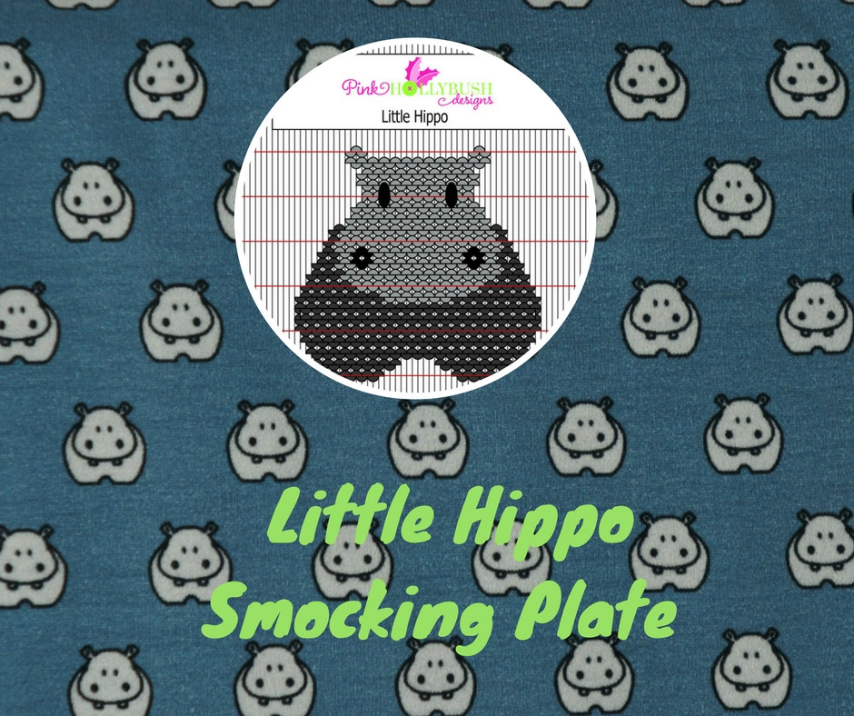 Little Hippo Smocking Plate