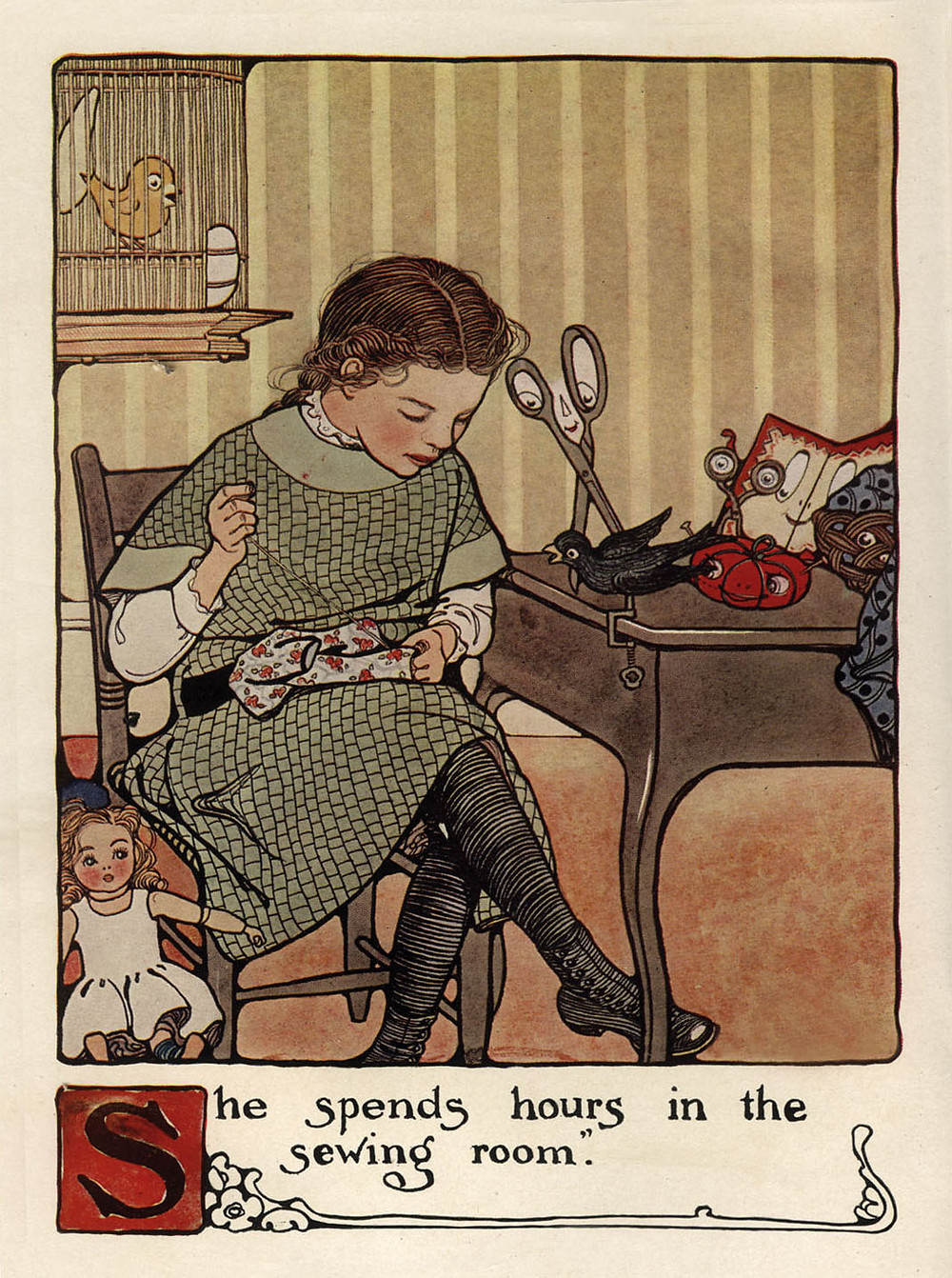 Image from Mary Frances Sewing Book