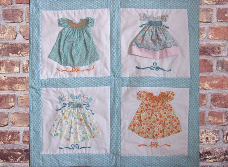 Sewing the Paper Doll Quilt