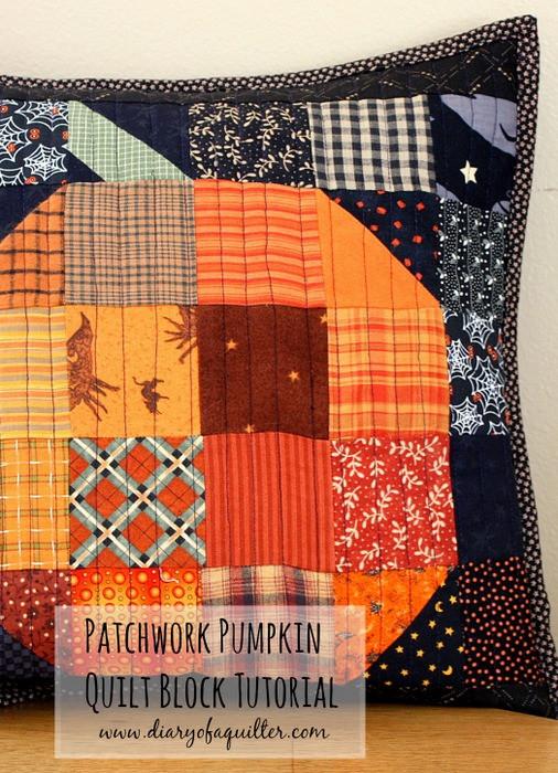 Patchwork Pumpkin
