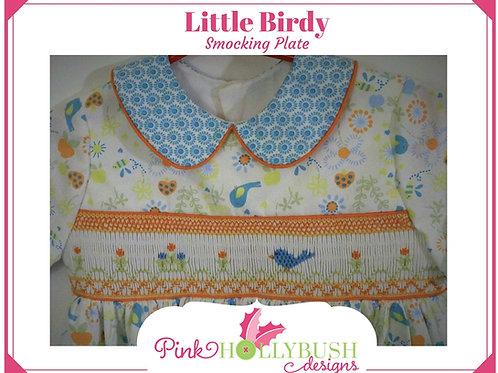 Little Birdy Smocking Plate
