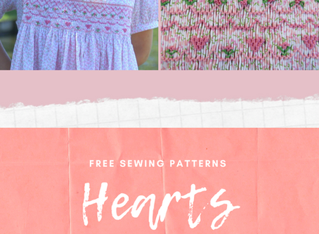 A Round-Up of Free Heart Patterns