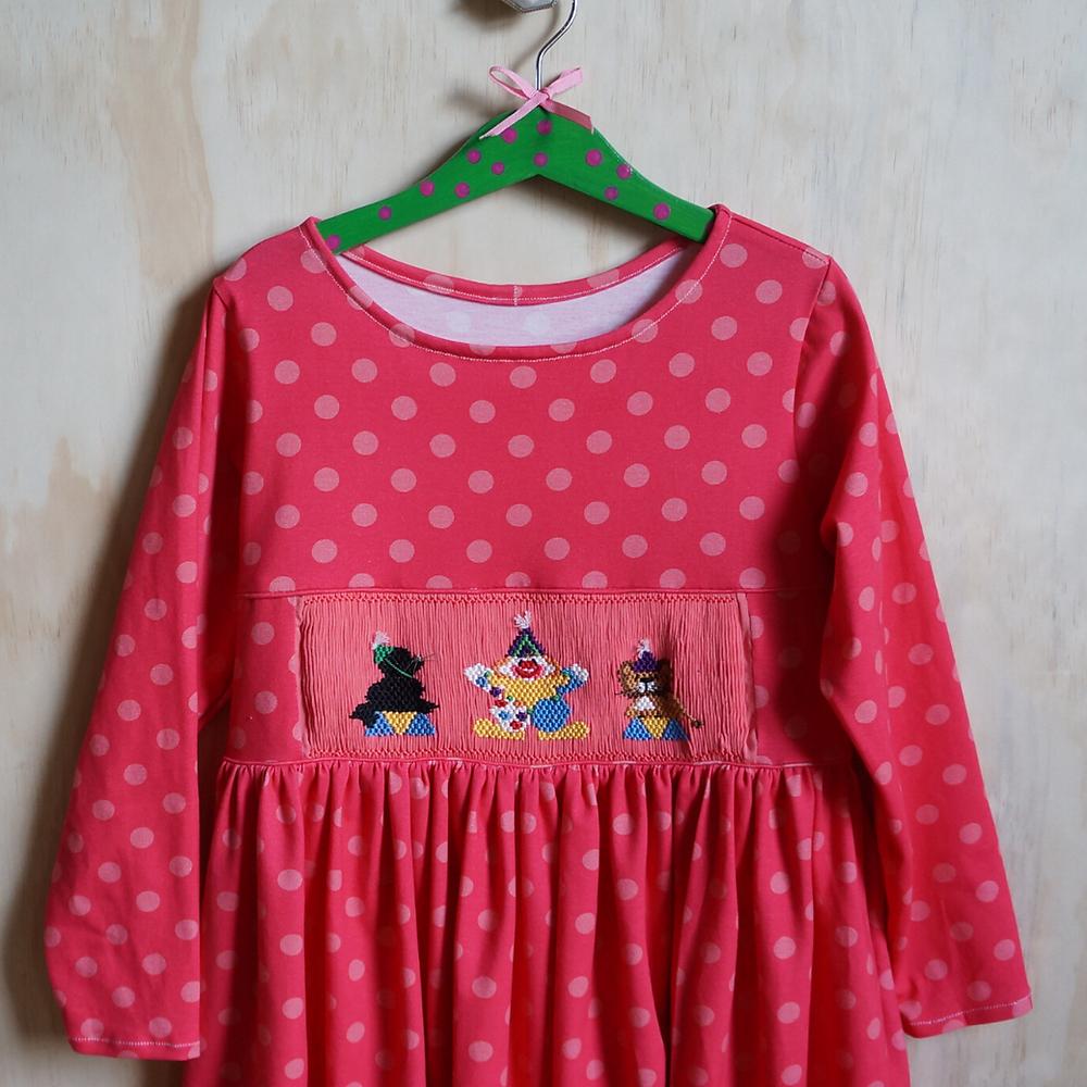Finished Honey Dress