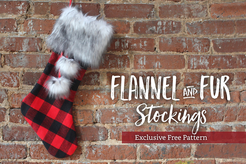 Flannel and Fur Stocking