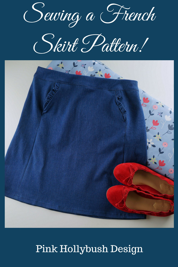 Sewing a French Skirt Pattern