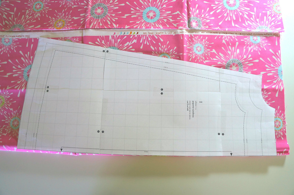 layout of pattern
