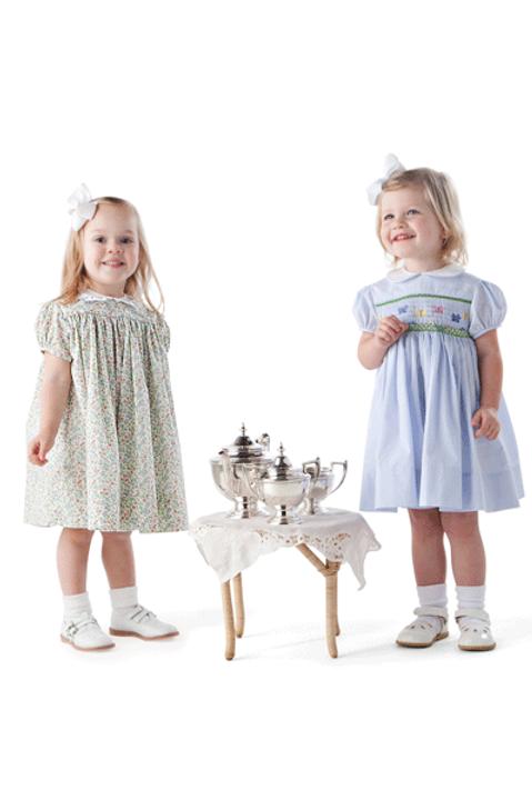 Lee Smocked Child's Dress Sewing Pattern