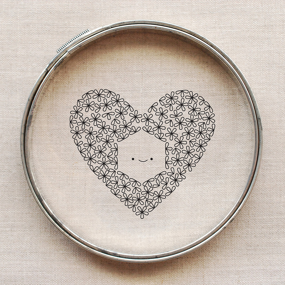 Embroidery Heart Design