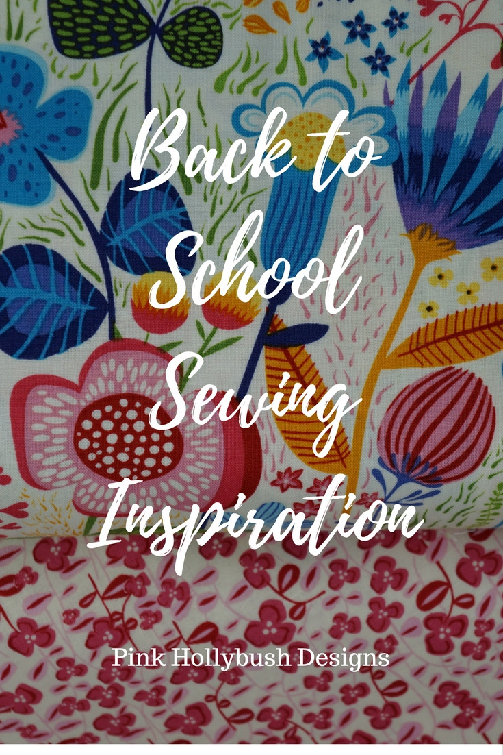 Back to school sewing inspiration