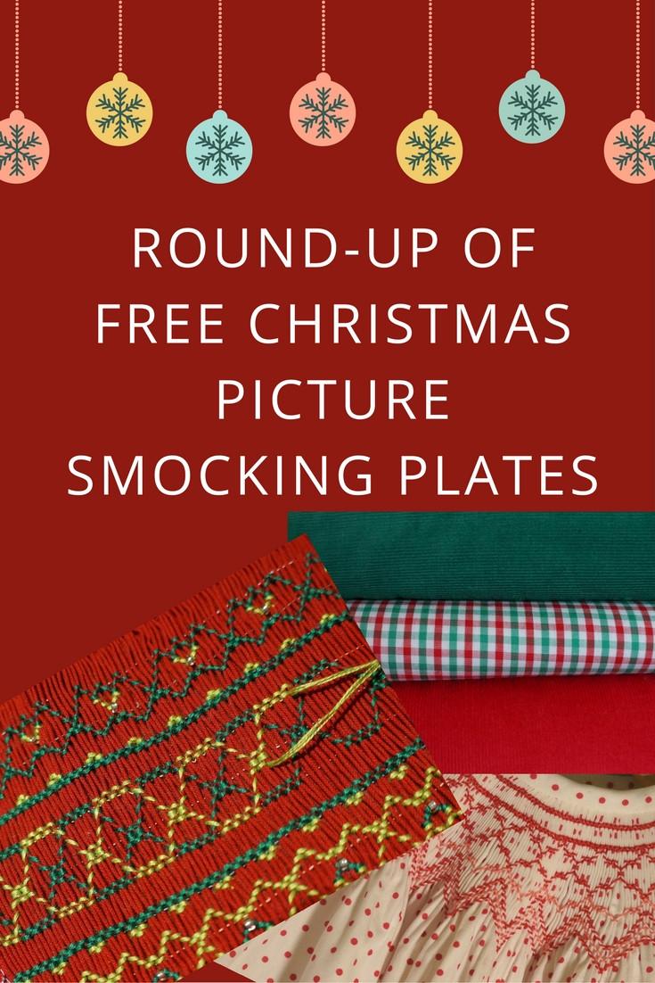 Free Christmas Smocking Designs