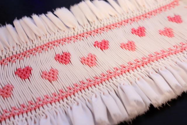 Heart Smocking Plate