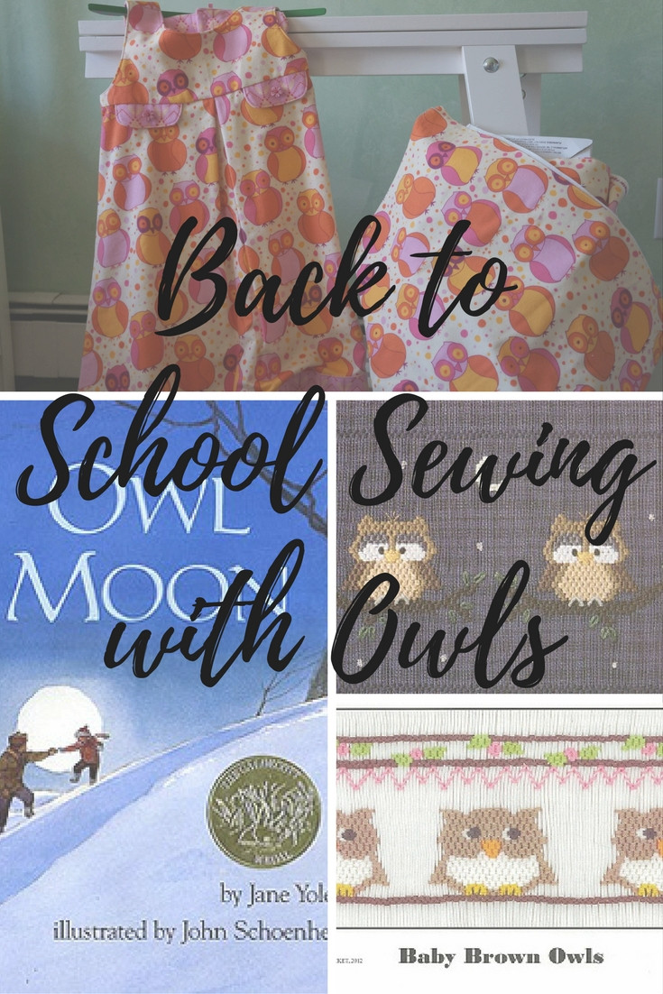 Back to school to school sewing