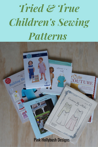 Tried and True  Children's Sewing Patterns