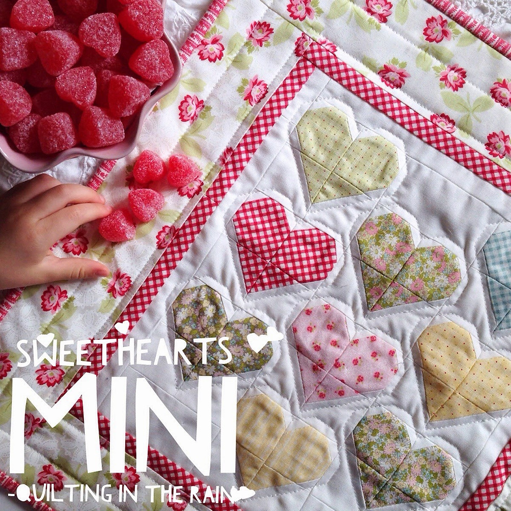 Sweethearts Mini Quilt
