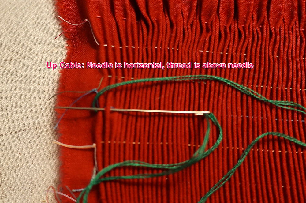 Up Cable Stitch
