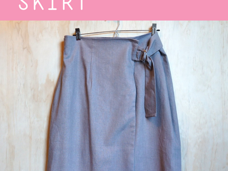Turning the Utu Skirt into a Faux Wrap
