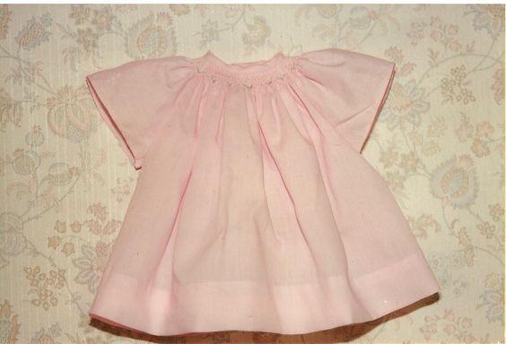Smocked Preemie Gown Pattern