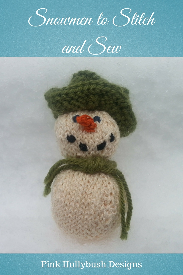 Snowmen to Stitch and Sew