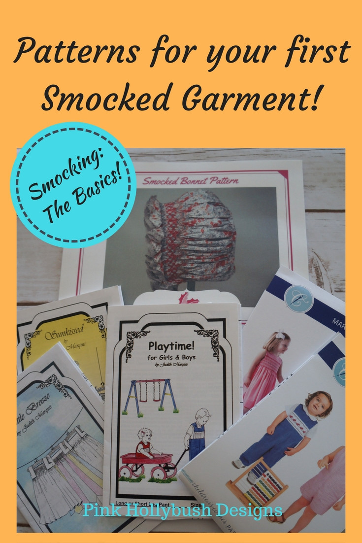 Patterns for your first Smocked Garment