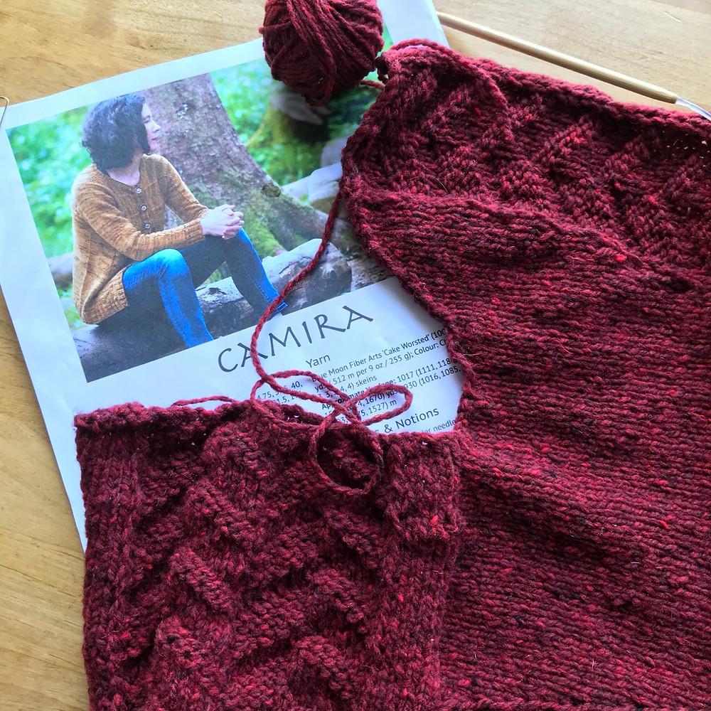 Camira Knitting Pattern