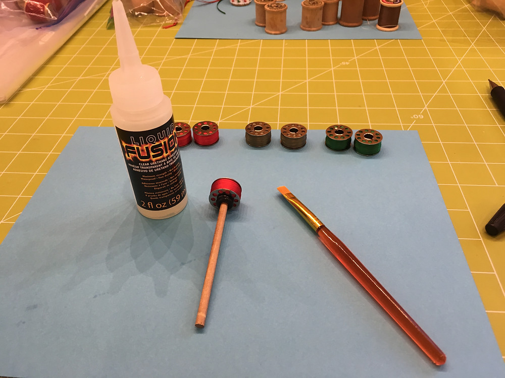 Supplies for making ornaments