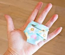 Teeny Tears Diaper Pattern for Preemies