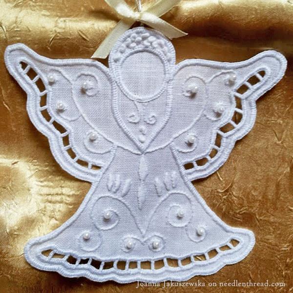 White Work Angel