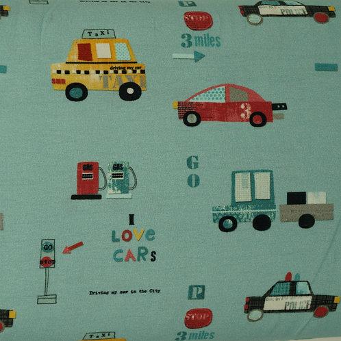 Traffic Organic Knit Fabric