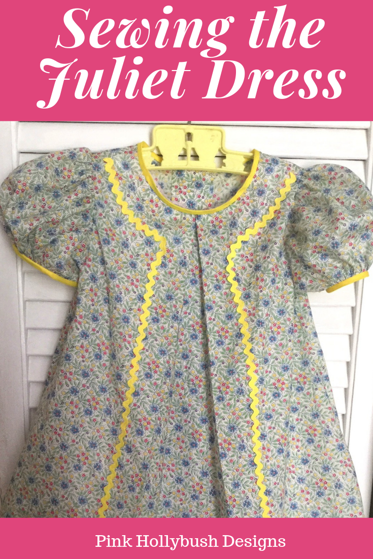 Sewing an everyday dress with the Juliet Dress Pattern | Pink Hollybush Designs