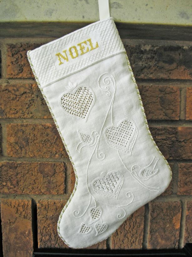 Schwalm Embroidery stocking