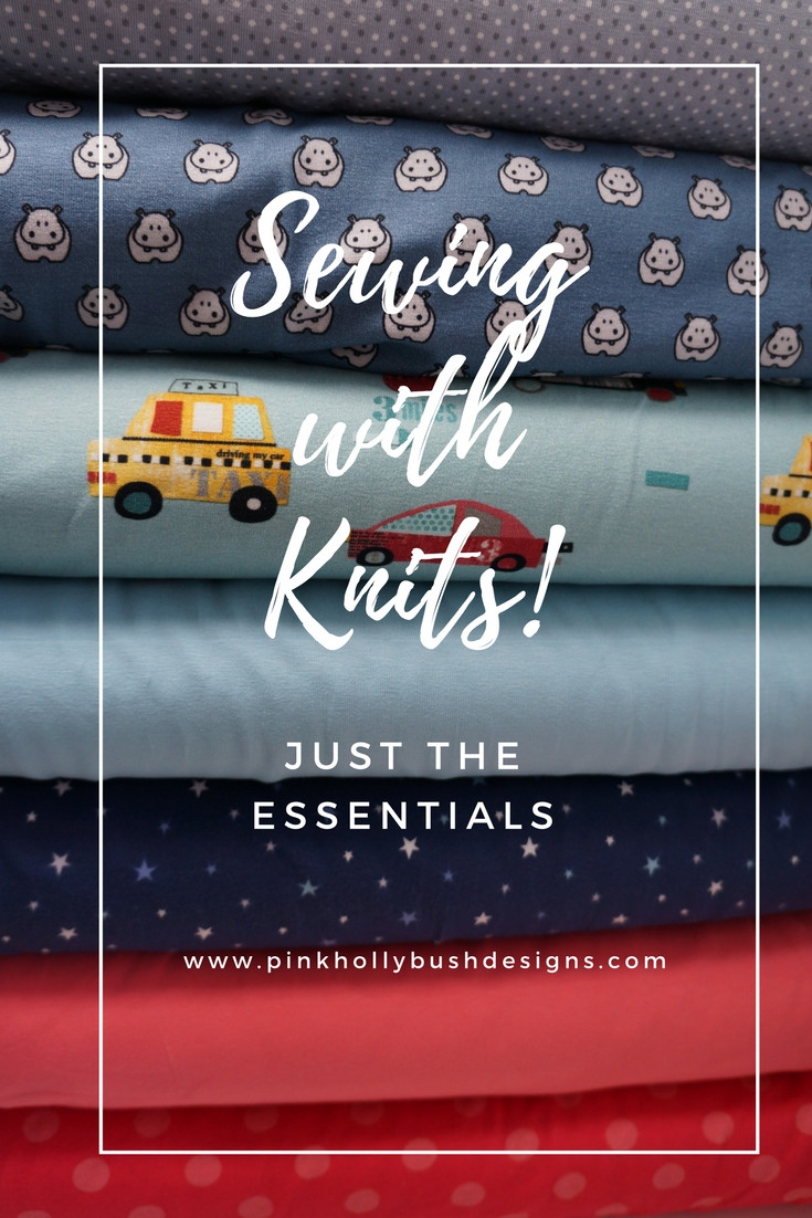Sewing with Knits: Just the Essentials