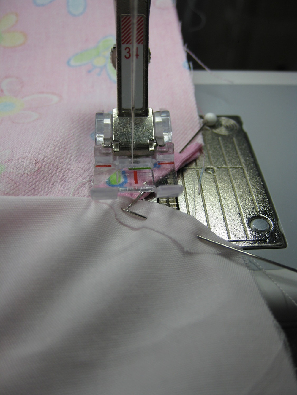 Stitching the Side Seams