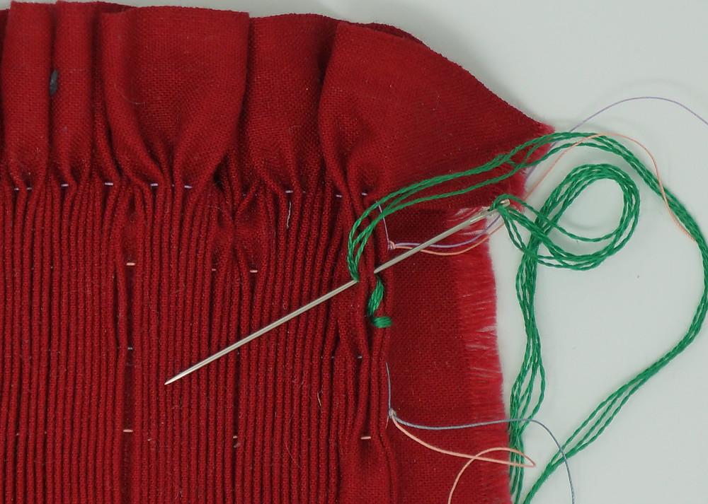 Second locking stitch