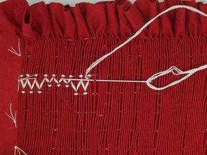 Smocking Tutorial: The Trellis Stitch