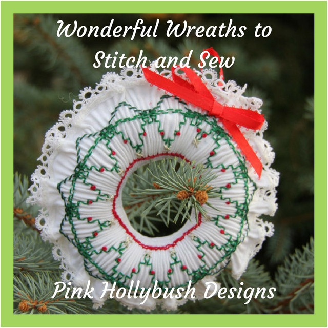 round-up of free wreath patterns