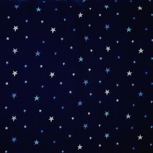 Starry Sky Organic Knit Fabric