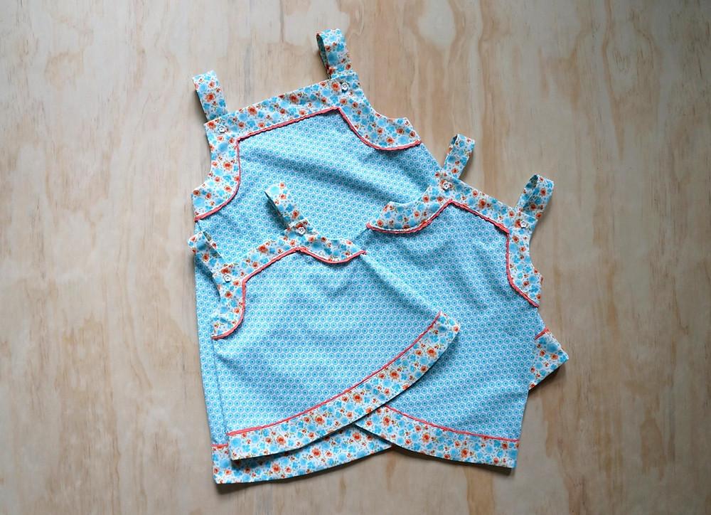 Finished Sister Dresses