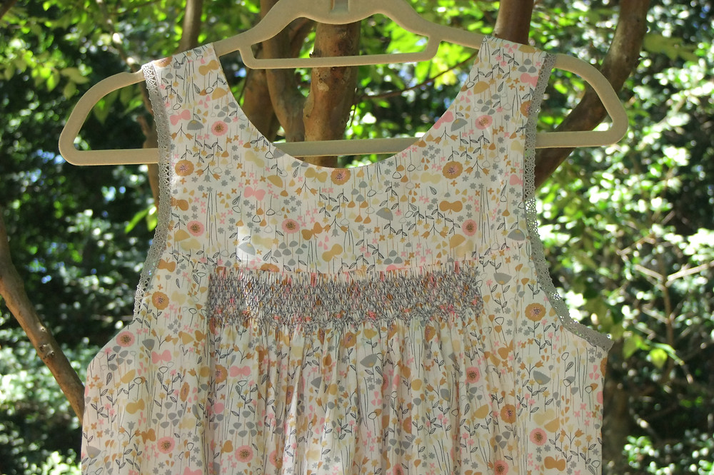 Smocked Ladies Nightgown