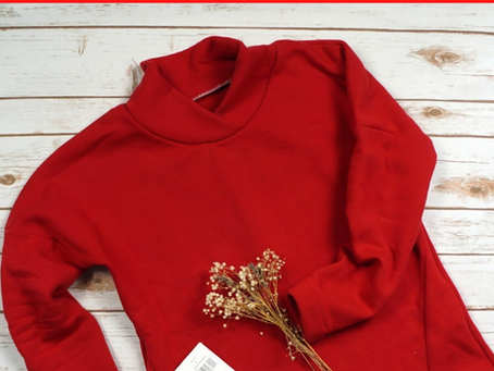 Sewing a Red Fleece Top