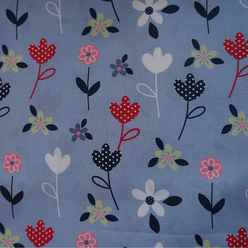 Spring Bouquet Cotton Broadcloth